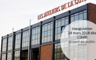Inauguration des ATeliers de la Côte à Etoy