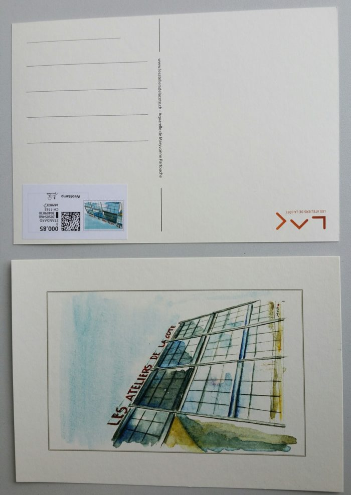 Carte postale aquarelle