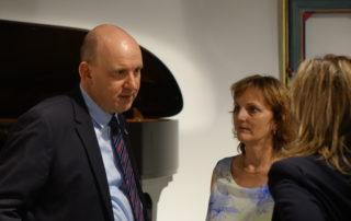 la maison Steinway lors de l'inauguration du piano au LAC