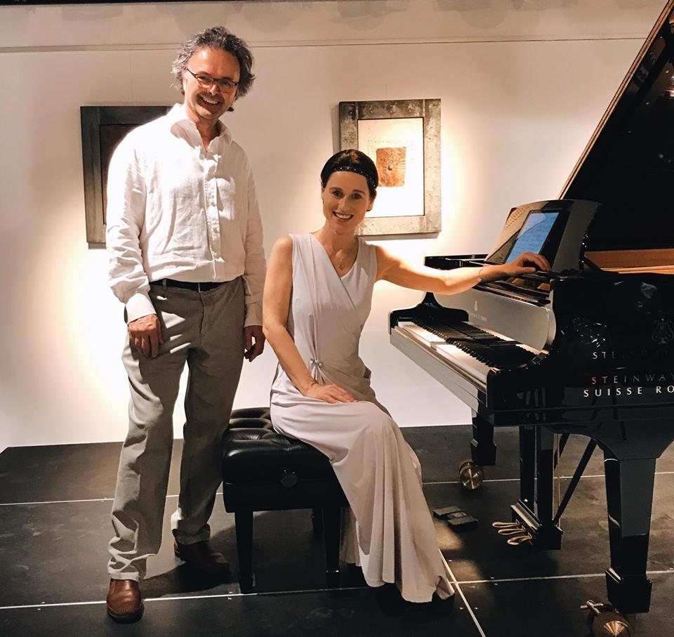 Irina Lankova et François Thury au LAC