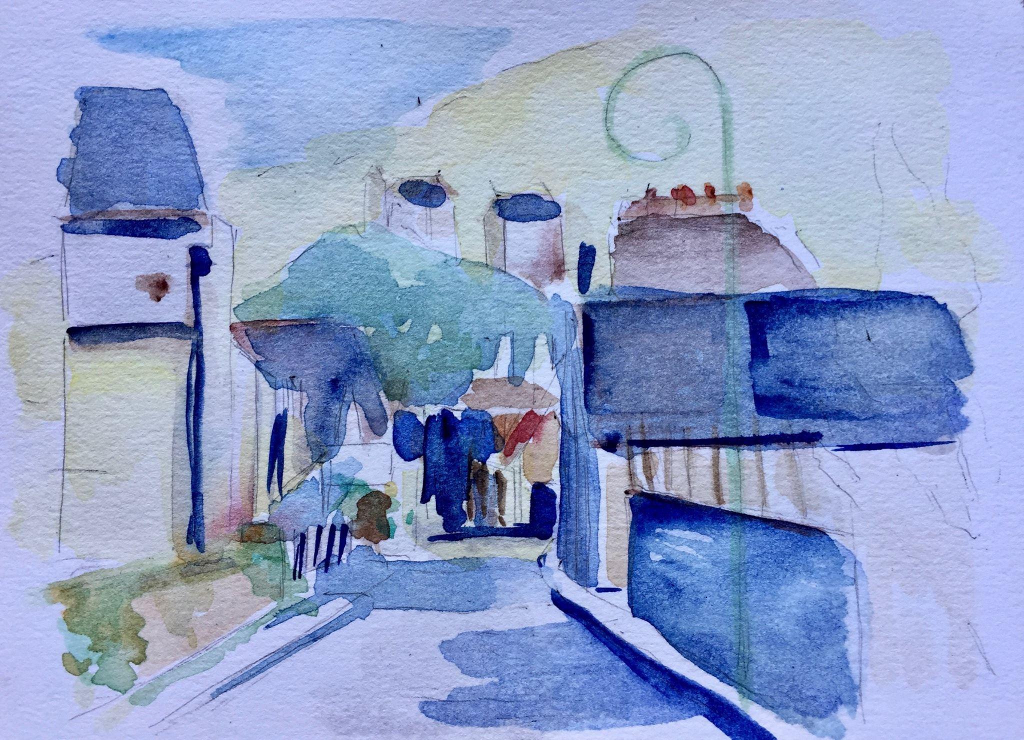 Cours de peinture aux Ateliers de la Côte