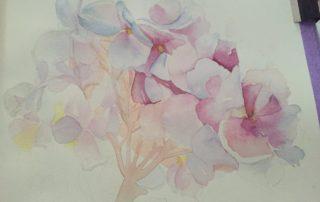 Cours de peinture au LAC