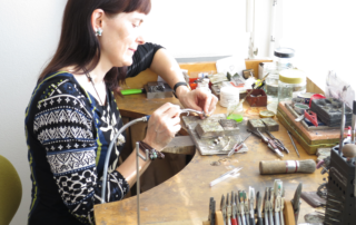 Karin Bauermeister est une amie des Ateliers de la Côte à Etoy