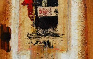 Afi Nafissy peintre iranienne a exposé ses magnifiques œuvres aux Ateliers de la Côte