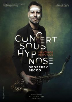 Geoffrey Secco, concert sous hypnose aux Ateliers de la Côte à Etoy