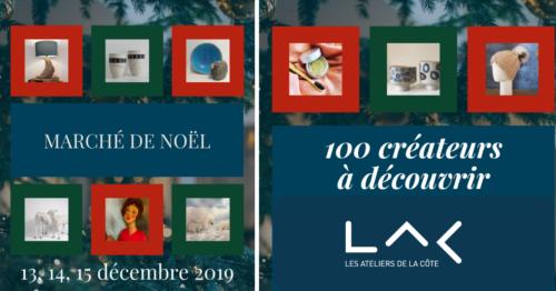 Marché de Noël aux Ateliers de la Côte à Etoy