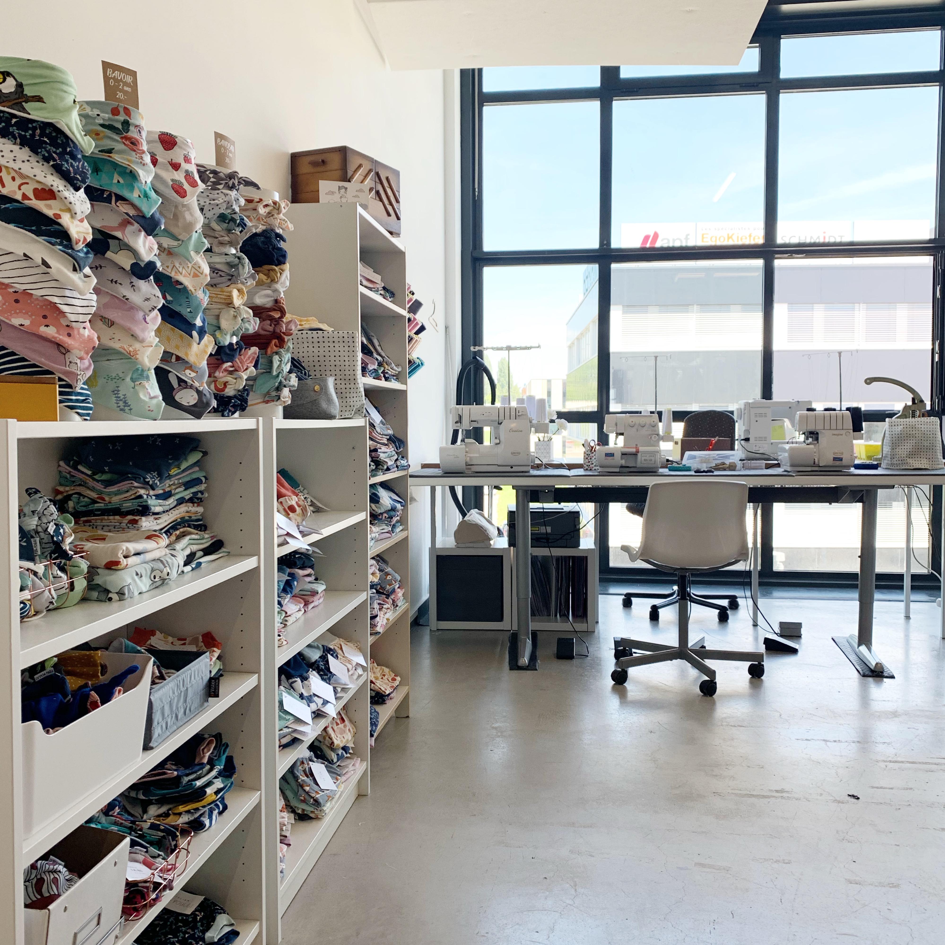 atelier 225E du bâtiment des Ateliers de la Côte, centre artistique culturel à Etoy
