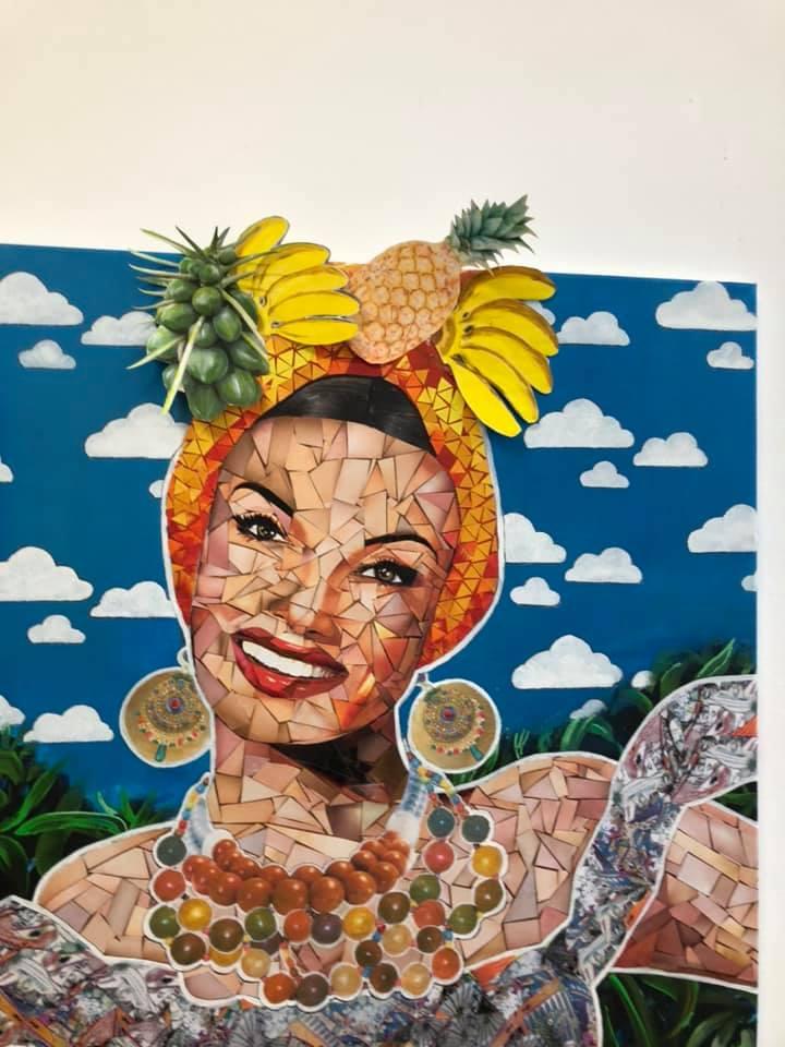 Marie-Christine Czura peintre aux Ateliers de la Côte à Etoy. Inspirée par ses nombreux voyages, Marie-Christine crée de merveilleuses toiles du monde