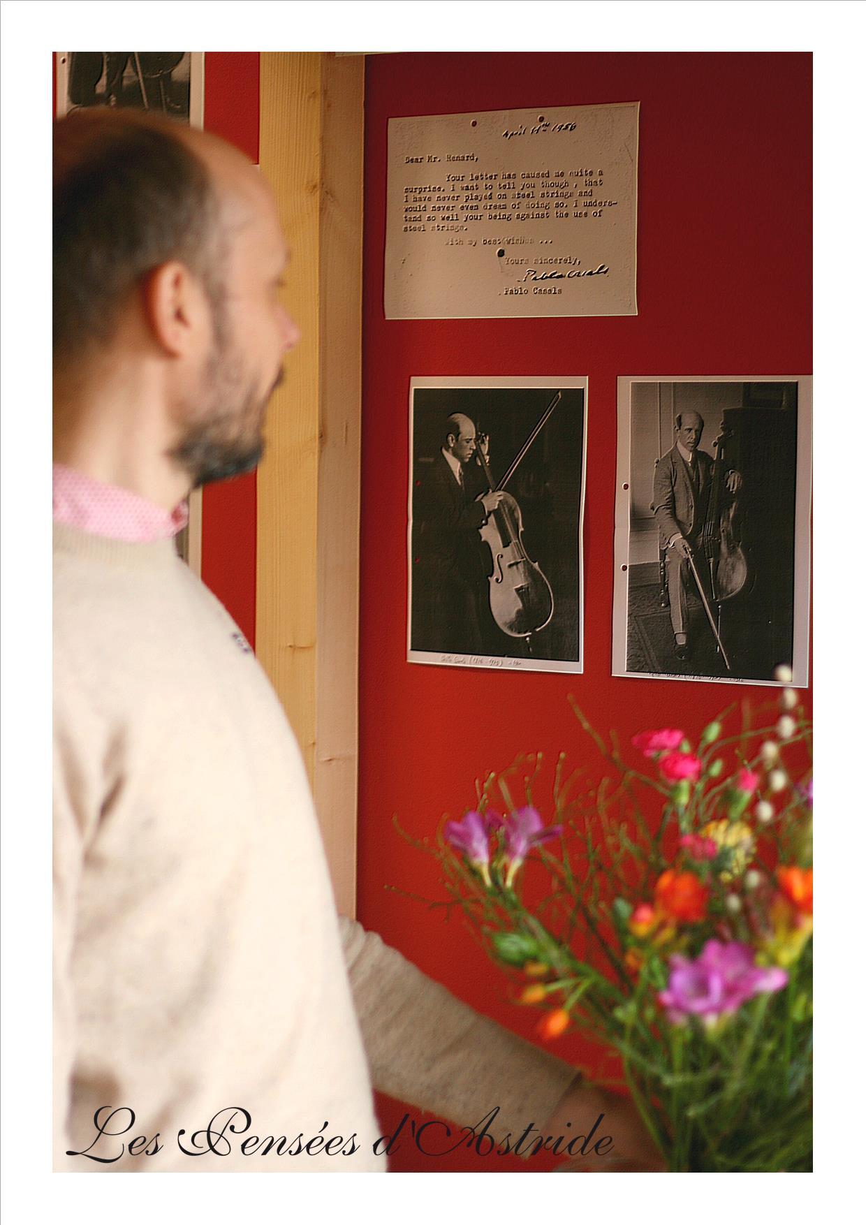 Mathieu Rouquié le violoncelliste photographié par Roxane de l'atelier Les Pensées d'Astride