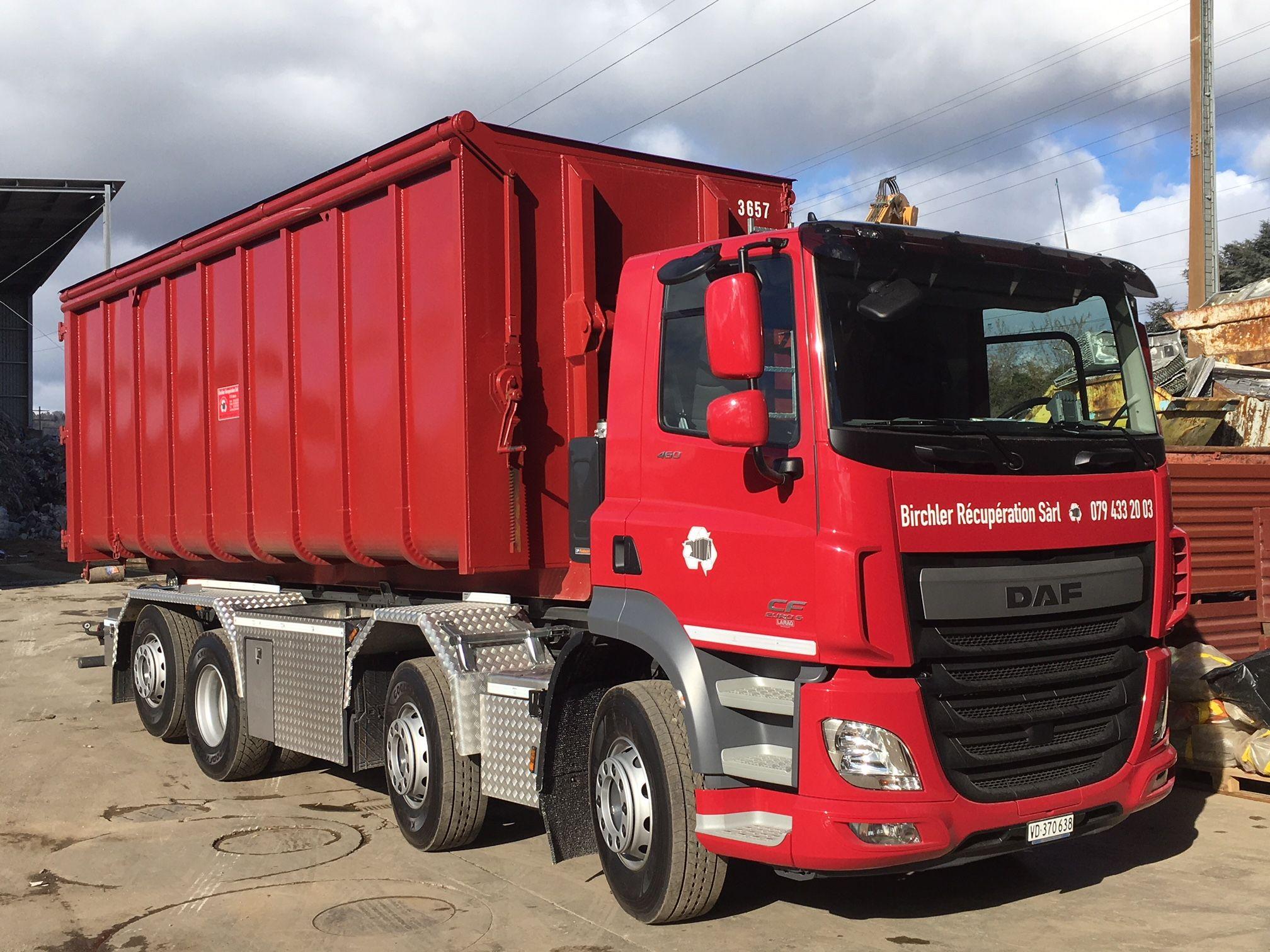 Birchler Récupération et recyclage de matériaux à Etoy