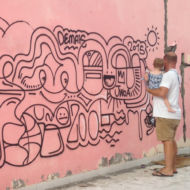 AWOA - Atelier graffiti - Peinture